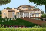 plan de maison à telecharger avec terrasse arcade cintrée
