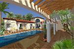 magnifique villa type provençale avec une piscine et une suite parentale à l'étage