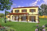 maison traditionnelle gasconne, Gers, Sud, plan de maison à étage