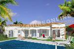 villa avec arcades cintrées et piscine mediterranéenne