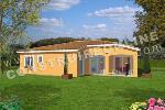 maison traditionnelle de plain pied avec terrasse