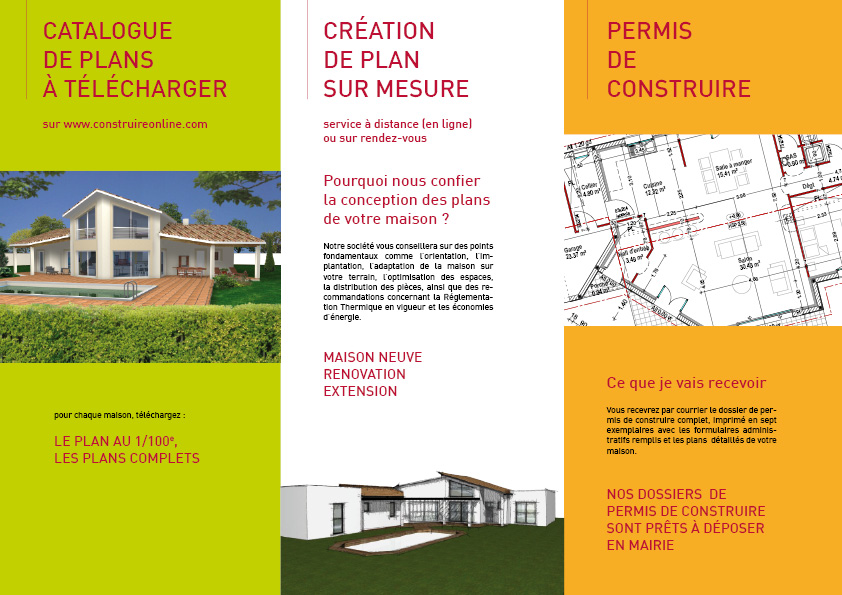 Construire online com plan de maison catalogue for Catalogue plan maison