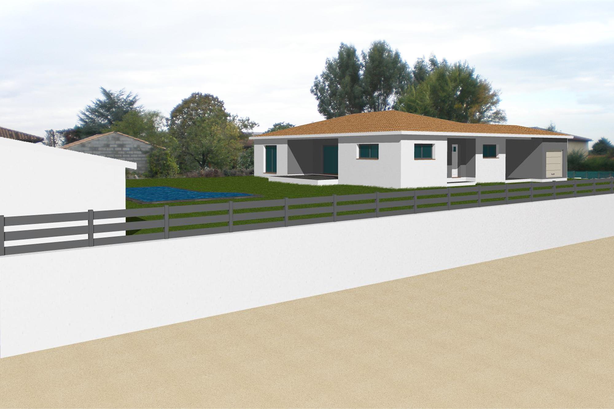 Permis de construire sur la commune de seysses pr s de - Construire une entree de maison ...