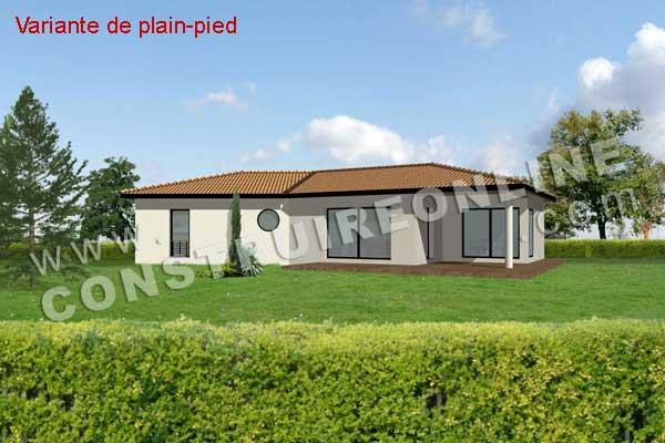Nouvelle maison en v avec sous sol plan de maison - Plan de maison en v plain pied ...