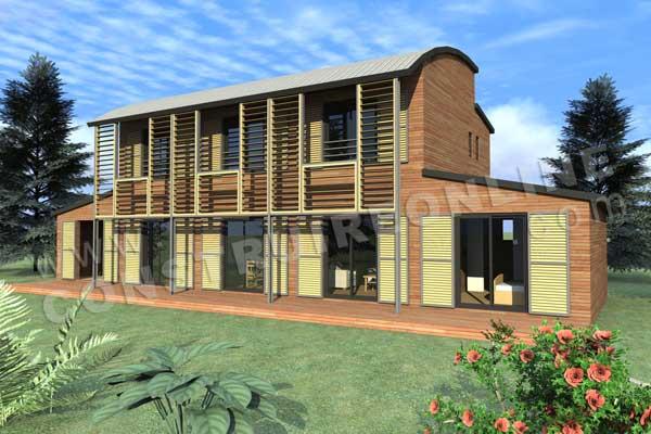 Conception d'une maison bioclimatique