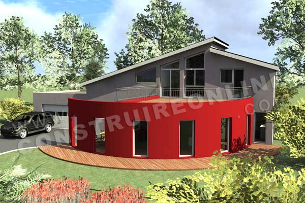 Plan de maisons contemporaines les nouveaut s for Plan de maison 3d gratuit telecharger
