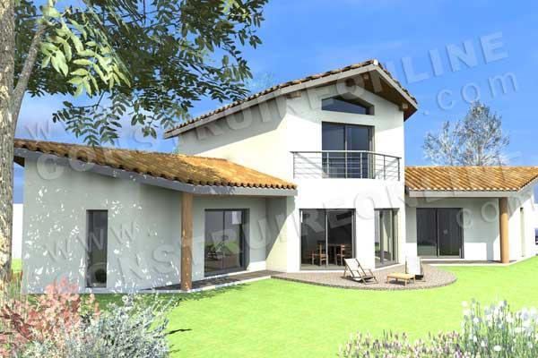 Plan de maison moderne sur mesure pour un projet pr s de for Plan moderne de maison