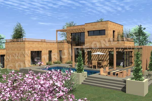 plans de maison en bois nouvelle rubrique sur notre catalogue de maisons. Black Bedroom Furniture Sets. Home Design Ideas
