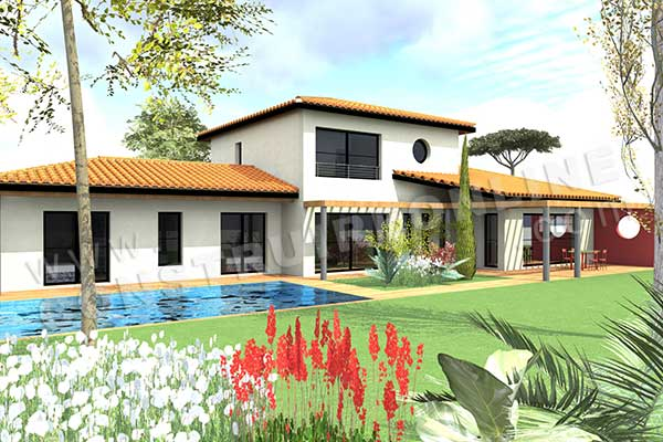 Les deux nouveaux plans de maison de la semaine mod le - Plan de maison luxueuse ...