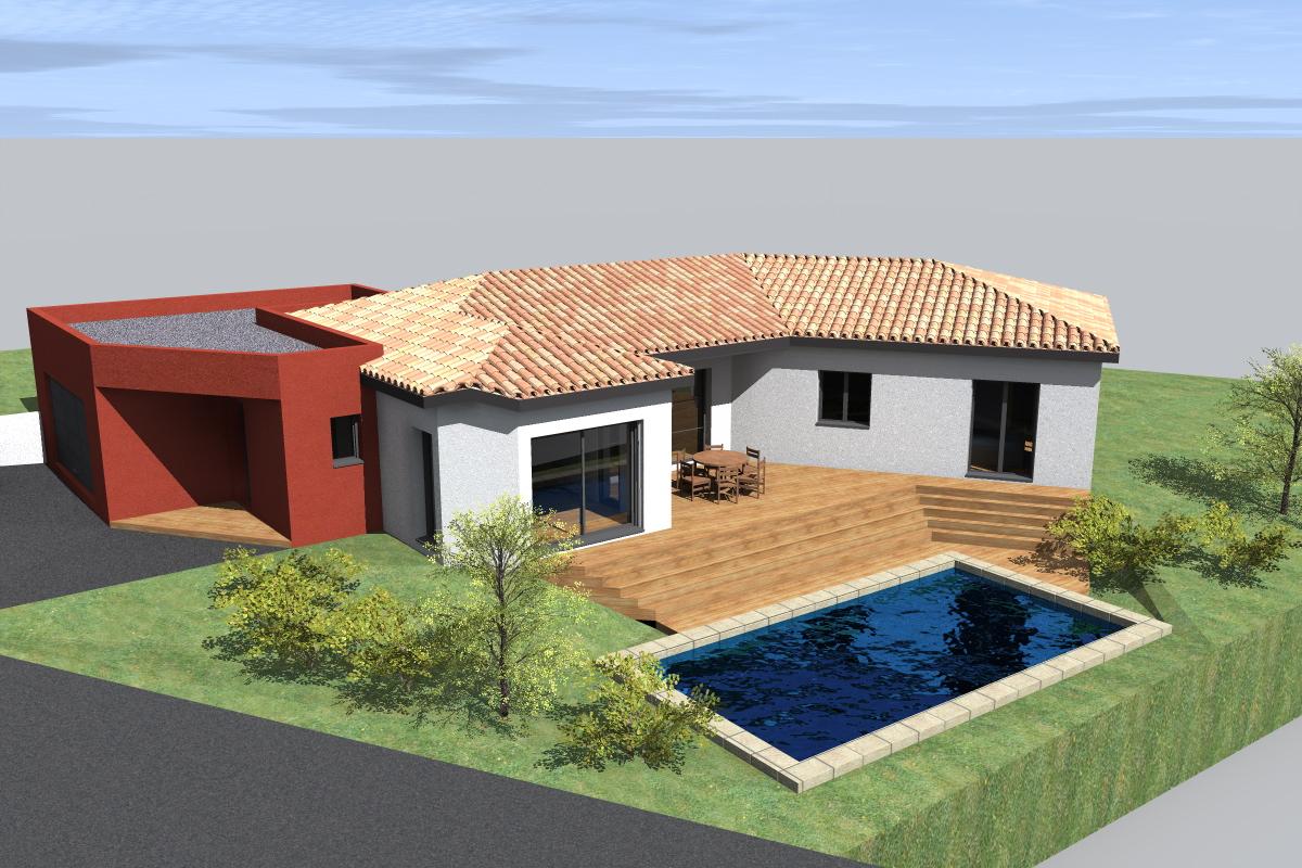 Plan De Maison Moderne plan de maison moderne sur mesure à dremil lafage (31) |