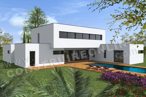 plan de maison en duplex moderne joy studio design gallery best gallery - Plan De Maison En Duplex