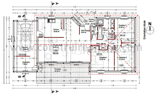 Construireonline lance le premier plan de maison en for Application plan de maison