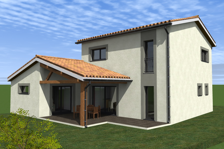 construction d'une maison à étage à Colomiers