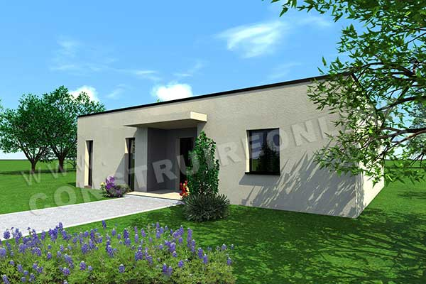 Nos derni res cr ations de plans contemporains pour petit for Vente maison container