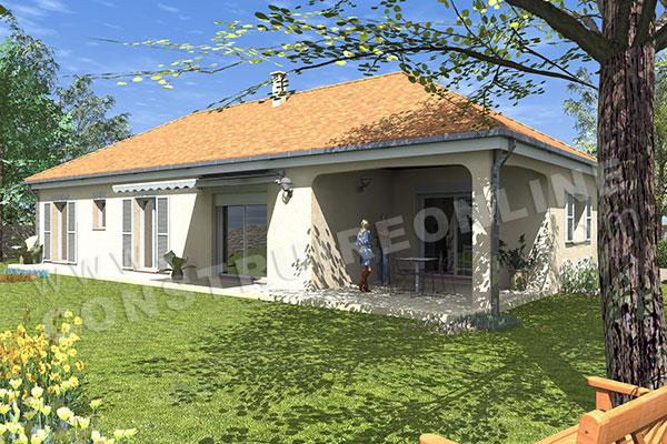 Maison traditionnelle de plain-pied