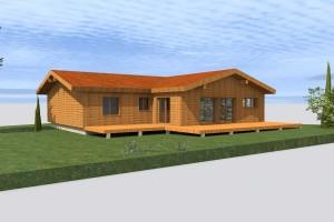etude de plan et permis de construire d une maison en bois en haute garonne. Black Bedroom Furniture Sets. Home Design Ideas