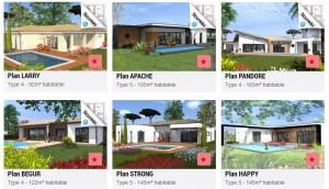 plans de maison plain pied