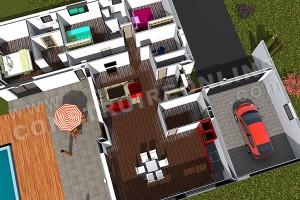 plan-de-maison-moderne