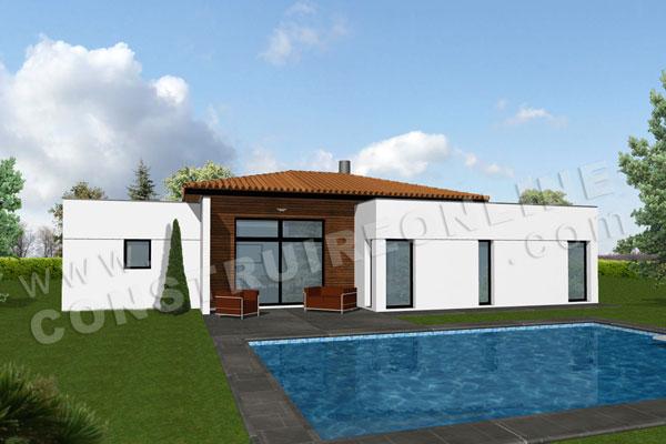 Plan de maison moderne andy - Modele interieur maison moderne ...