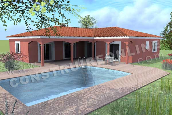 Plan de maison traditionnelle sirocco for Maison 3d a construire
