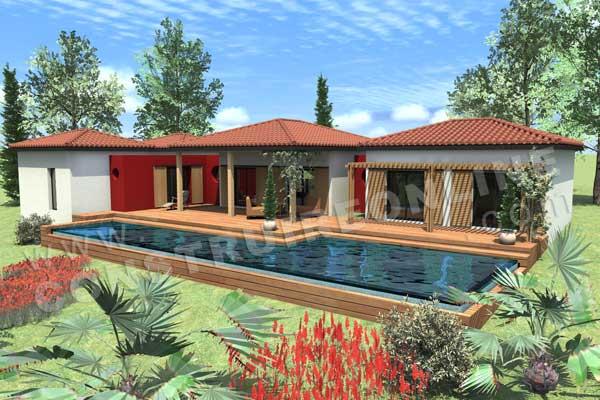 Plan de maison moderne sakawoule - Plans de maisons modernes ...