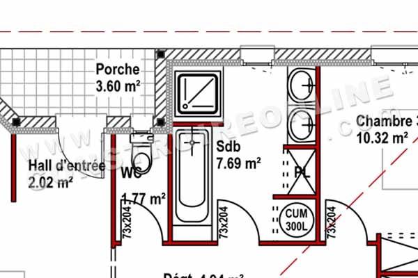 Plan Gratuit De Maison. . . Plan Maison 146 Plan Niveaux. Pin Plan