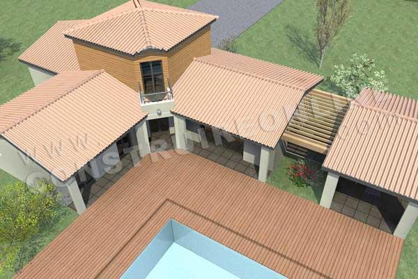 Plan de maison cassis for Acheter maison cassis