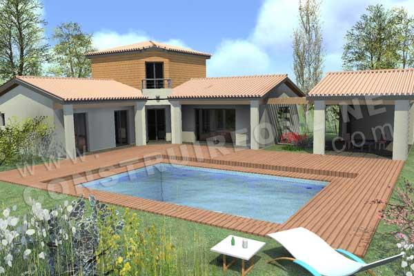 Vente de plan de maison tage for Maison etage moderne