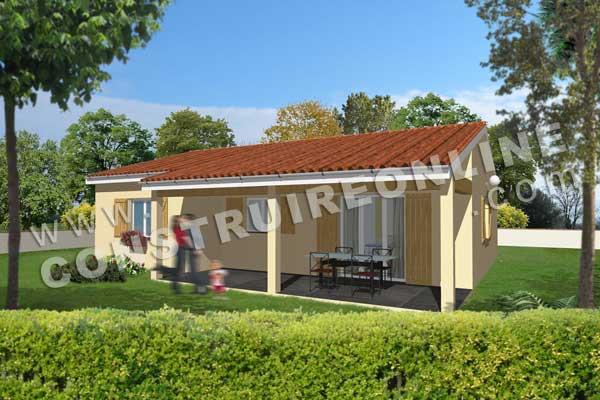 Plan de maison traditionnelle nuts for Modele maison gratuit