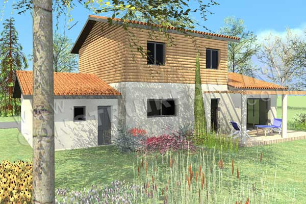Plan de maison traditionnelle nolima for Plan de maison traditionnelle gratuit