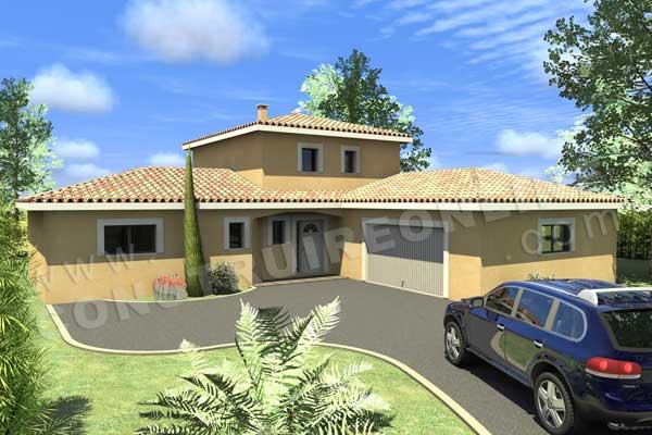 Plan de maison cigaline for Demo architecte 3d