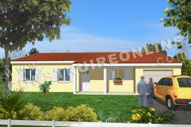 plan de maison modele big nuts vue 3d