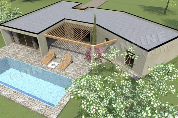 Plan de maison victory for Acheter yourte contemporaine
