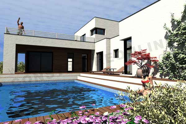 maison contemporain KANSAS