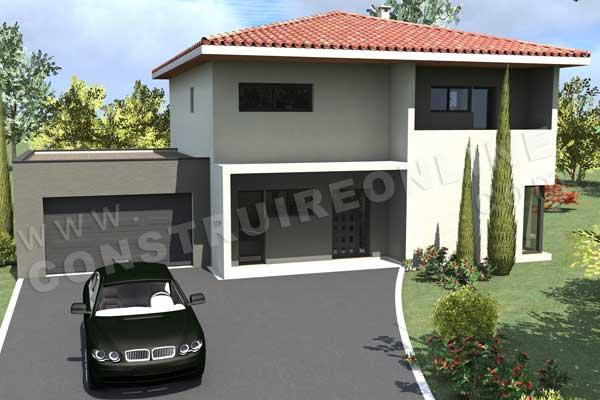 Plan De Maison Moderne A Etage Gratuit. Plan Maison Gratuit En L ...