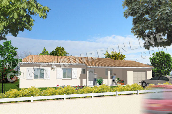 Plan de maison traditionnelle didi house for Plan maison traditionnelle plain pied