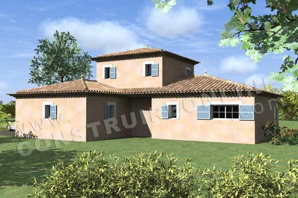 Plan de maison traditionnelle mistral for Plan de maison traditionnelle