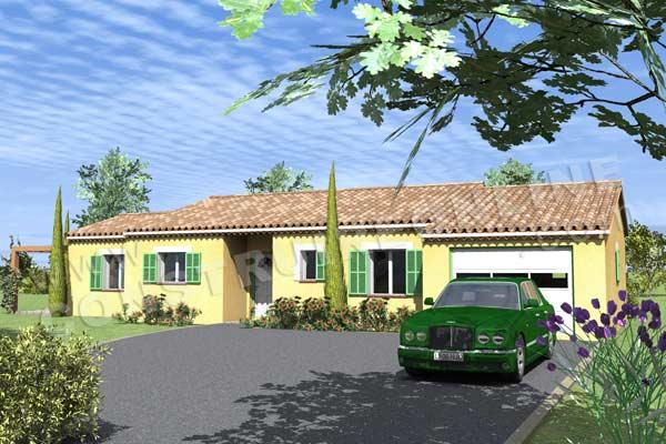 Plan de maison traditionnelle ambilys for Voir sa maison en 3d