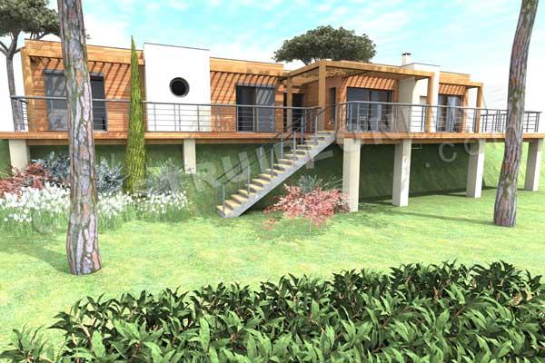 Vente de plan de maison d 39 architecte for Maison sur plan
