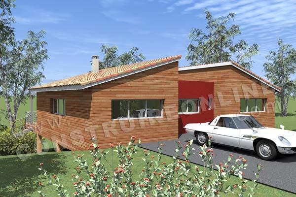 Plan De Maison Bois Podihome