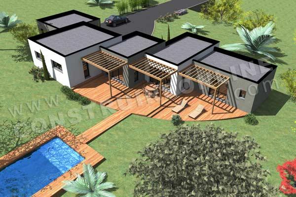 Plan Maison Terrain En Pente Astucieux Jardin En Pente Forte Plan