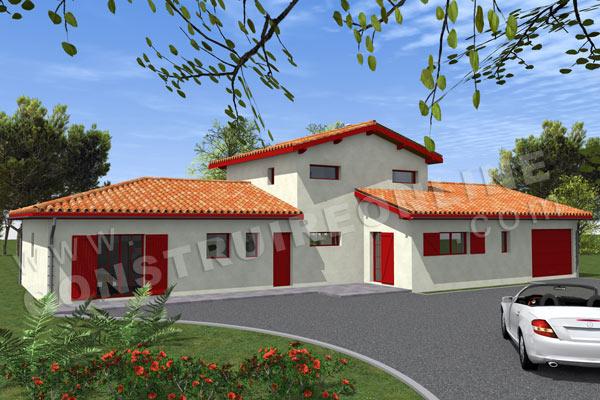 Plan Maison Basque. Great Plan Ortillopitz La Maison Basque De Sare ...