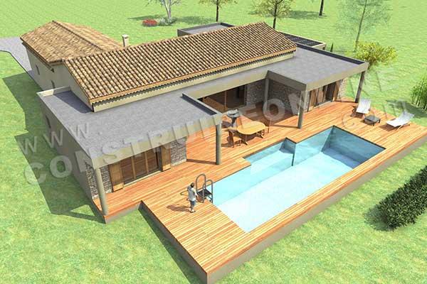 Plan de maison manosque for Acheter plan maison