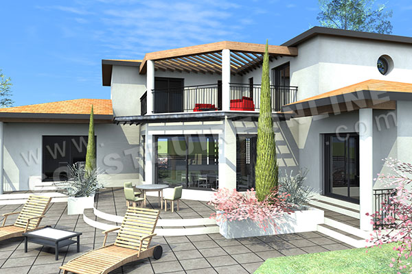 Vente de plan de maison d 39 architecte for Les plans des villas modernes