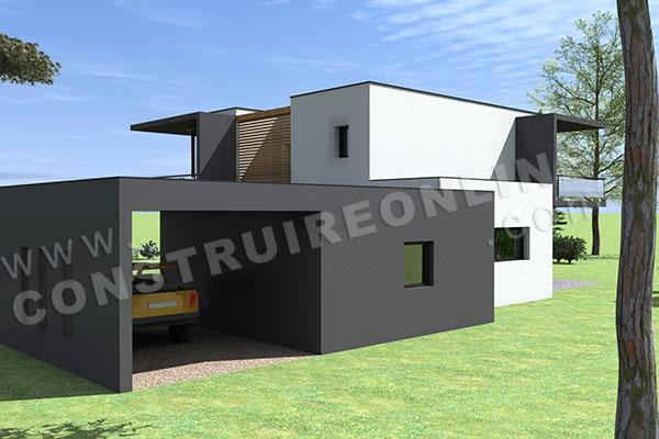 Plan de maison delta for Acheter yourte contemporaine