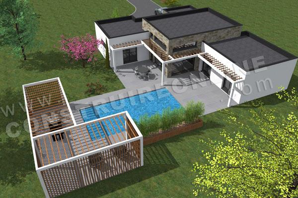 plan de maison equation. Black Bedroom Furniture Sets. Home Design Ideas