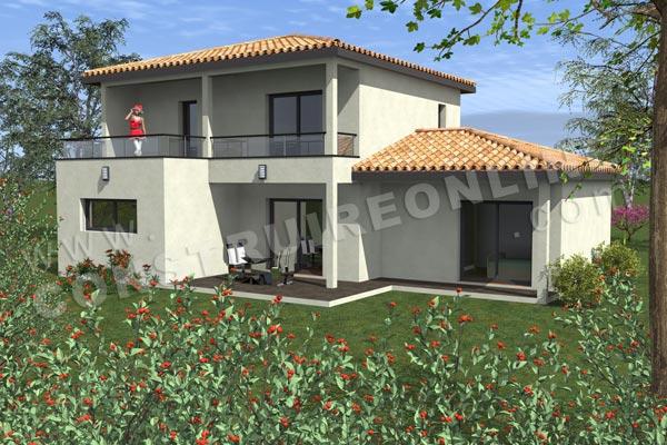 Terrasse de maison contemporaine terrasse bois maison contemporaine nos conseils atelier d 39 for Plan maison terrasse