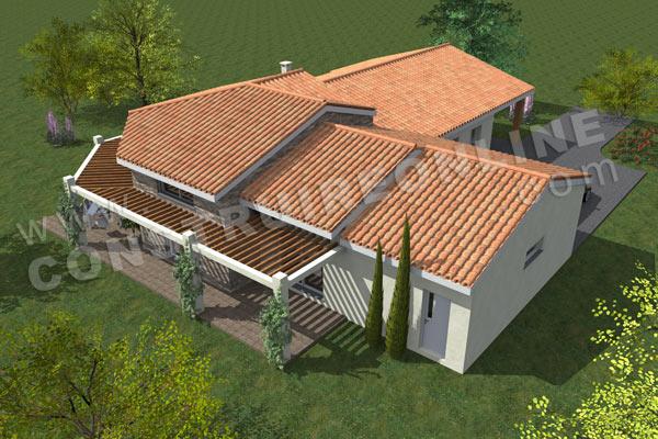 House plan Moderne MADELON