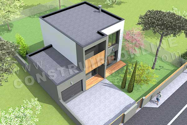 Application plan de maison 1st level covered terrace - Application plan de maison ...