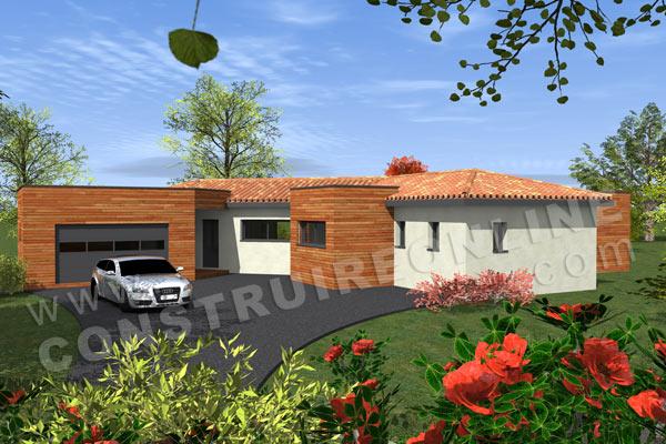 Plan de maison moderne orion for Voir sa maison en 3d